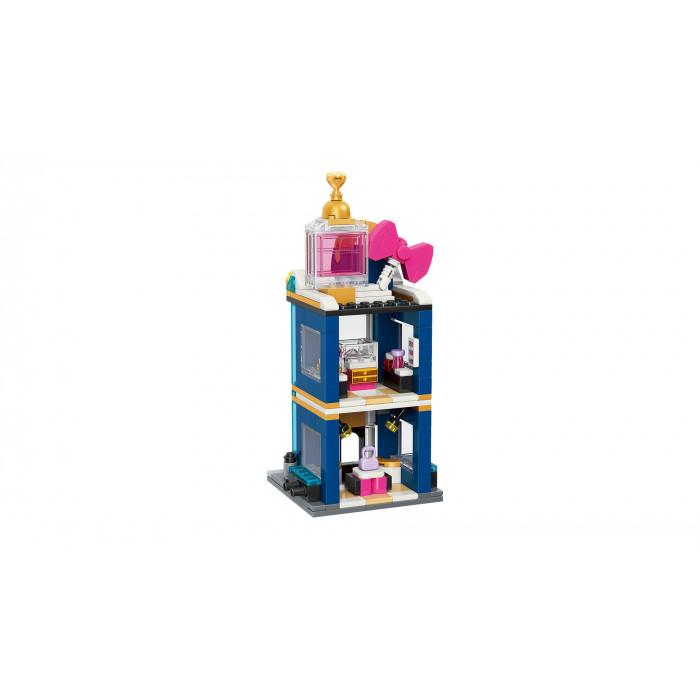 Q-MAN Építőjáték: Luxus Ékszer Ház