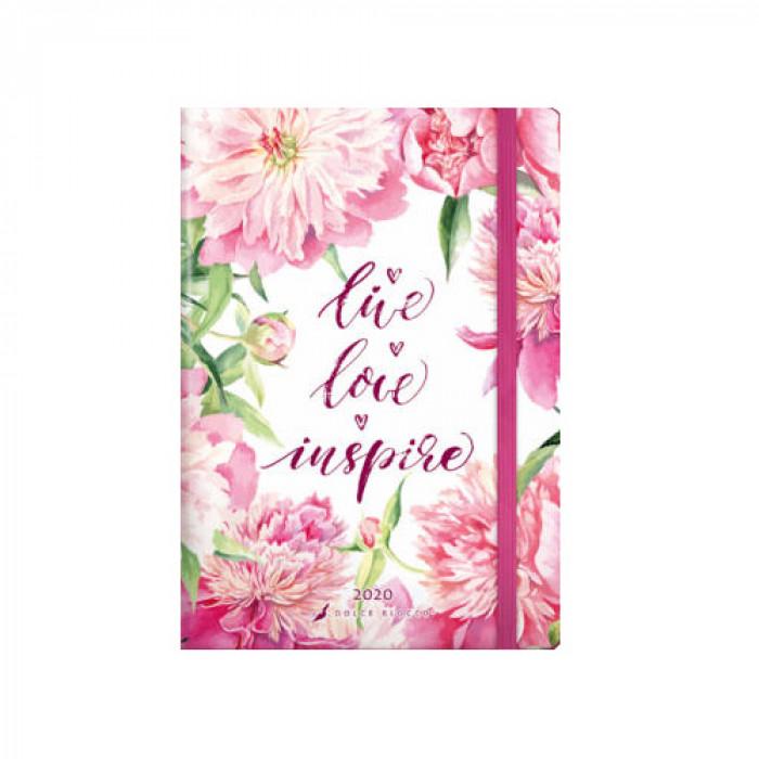 Dolce Blocco 2020, Secret Calendar B6, Live Love Inspire