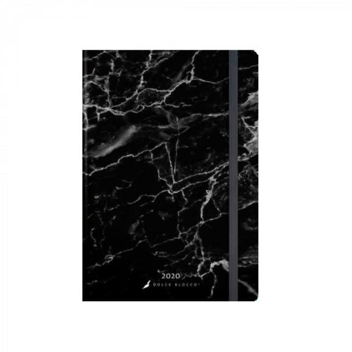 Dolce Blocco 2020, Secret Calendar B6, Marble