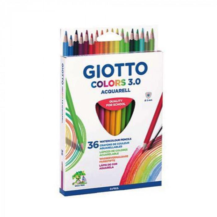 Giotto színes ceruza 36 db-os Colors 3.0 aquarell