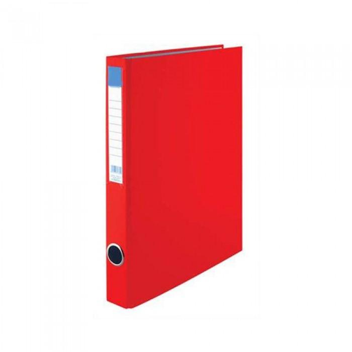 Gyűrűskönyv, 2 Gyűrű, A/4 35 mm, piros