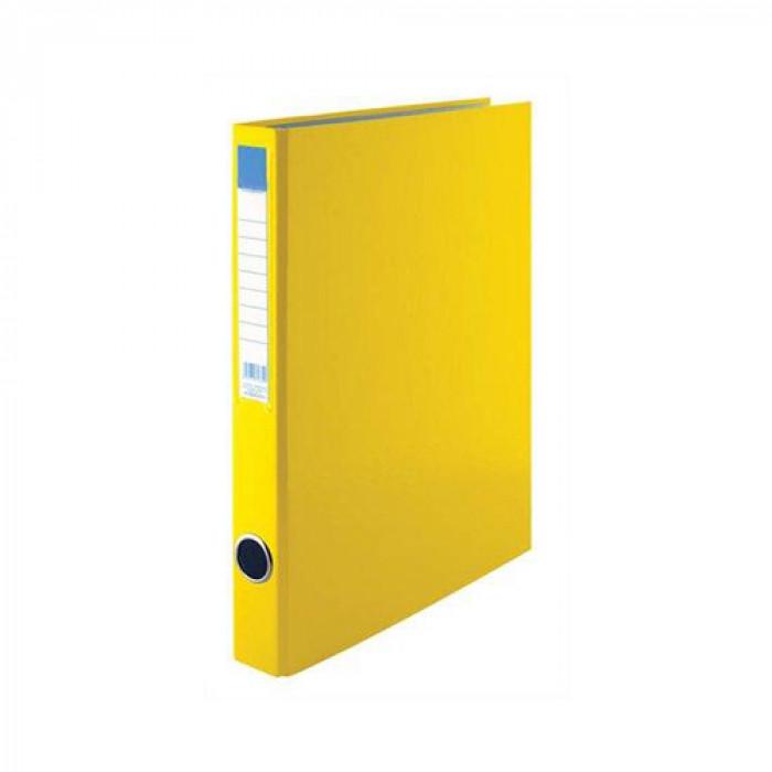 Gyűrűskönyv, 2 Gyűrű, A/4, 35 mm, sárga