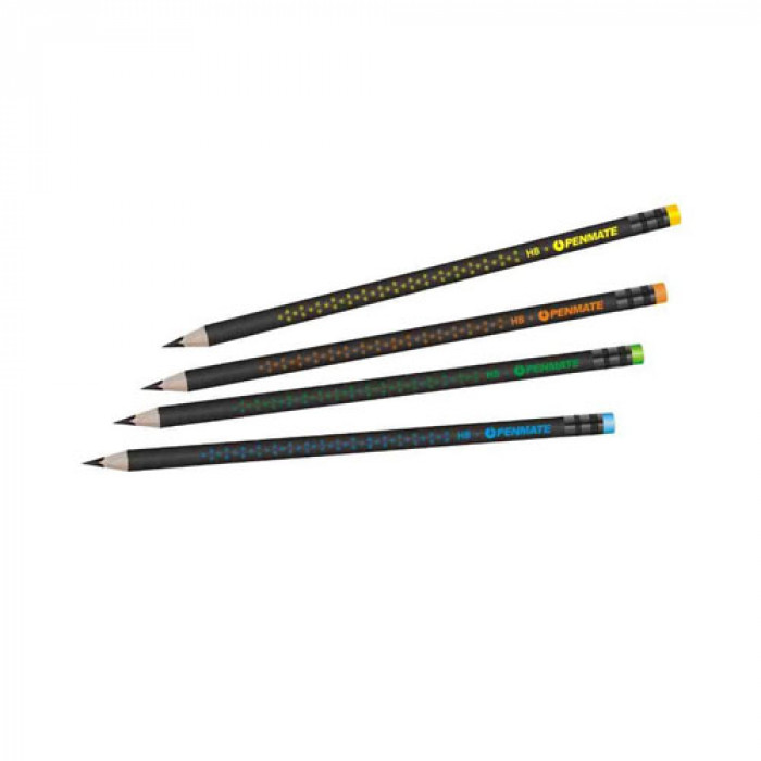 Kolori Premium Grafitceruza HB, radíros