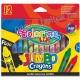 Colorino Kids Jumbo Zsírkrétakészlet, 12 db-os  (1 fluo) + Asztali tartó