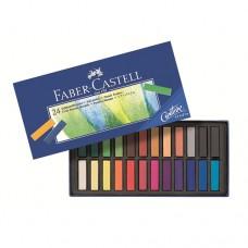 Faber-Castell - Goldfaber Porpasztell készlet, rövid, 24 db-os