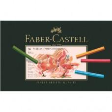 Faber-Castell - Polychromos Pasztell rúd készlet, 36 db-os
