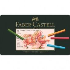 Faber-Castell - Polychromos Pasztell rúd készlet, 60 db-os