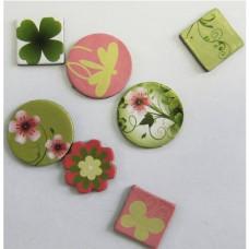Kreatív Öntapadós feliratos karton kiegészítők, 20 mm (15 db)